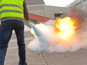 incendio extintores