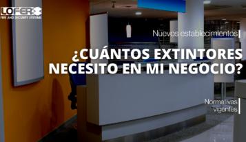Cuantos Extintores Necesito Para Mi Local En Alicante
