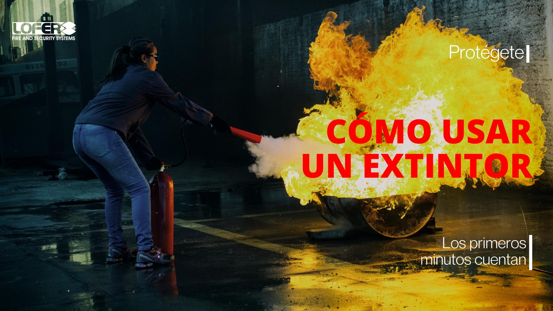 Cómo Utilizar Un Extintor En Caso De Que Se Produzca Un Incendio