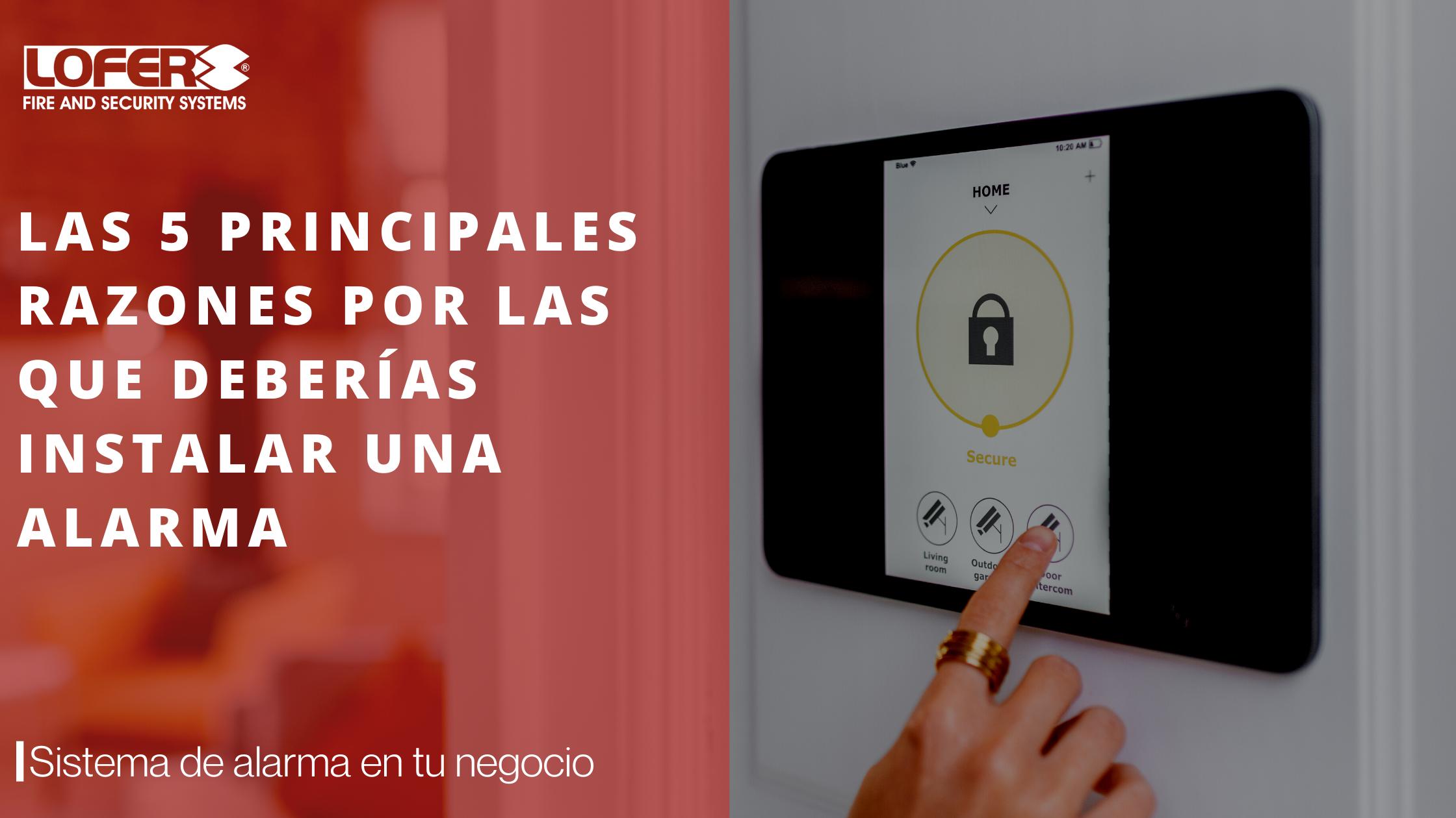 Empresa De Alarmas En Alicante