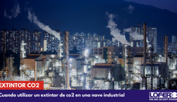 EXTINTOR CO2 NAVE INDUSTRIAL VALENCIA
