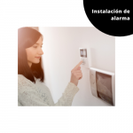 Sistema de alarma para el hogar o negocio